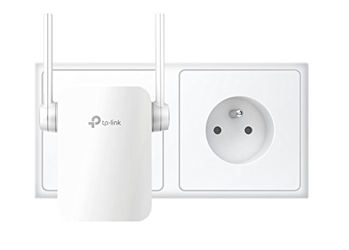 TP-Link TL-WA855RE(FR) Répéteur - Point d'accès Wi-Fi N 300 Mbps - 1 Port Ethernet - Compatible avec toutes les box internet - Augmente la portée du signal Wi-Fi jusqu'à des zones inatteignables ou difficiles à câbler