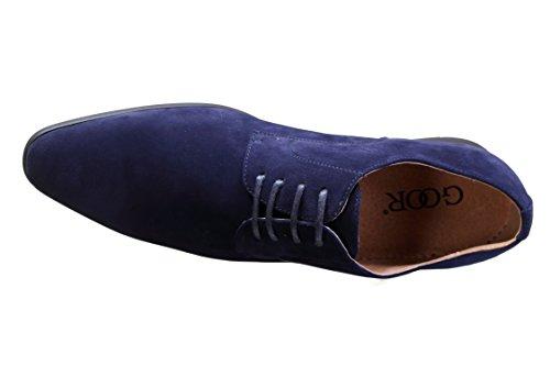 Goor - Chaussure Derbies 558 38s Marine Bleu
