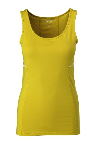 ESPRIT SPORTS Damen Top, F88410 Grün (Banana Green 750)