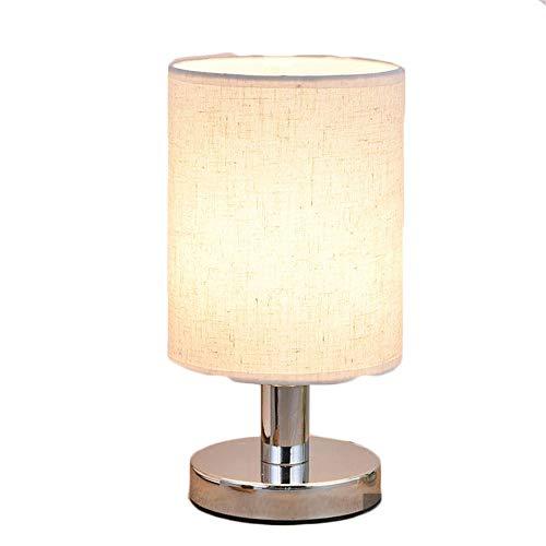 Tischlampe Schlafzimmer Nachttisch Lampe kreative einfache moderne Persönlichkeit kleine Nachtlampe romantische warme Fütterung Tischlampe Touch-Schalter E72 Smartphone
