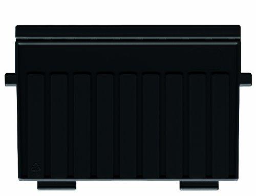 HAN 9026-13, Stützplatte DIN A6 quer, für HAN Karteitröge und Karteikästen, 5er Packung, schwarz