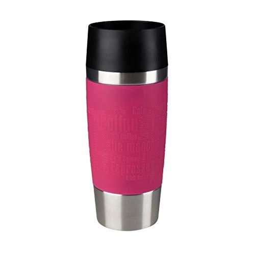 Emsa 513550 Travel Mug Standard-Design, Thermobecher, 360 ml, himbeer