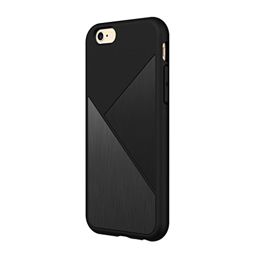 iPhone 6s Plus Hülle, RhinoShield [SolidSuit Marmor] Hochbelastbar. Schockabsorbierend. Ultra dünn, lebenslangen Garantie. 3 Meter Fallschutz Robuste Abdeckung – Marmor Weiß Gebürsteter Edelstahl Schwarz