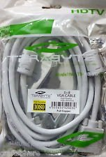 Terabyte VGA SVGA 3 Meter (Highspeed Display Cable) 15Pin Male To 15Pin Male  available at amazon for Rs.160