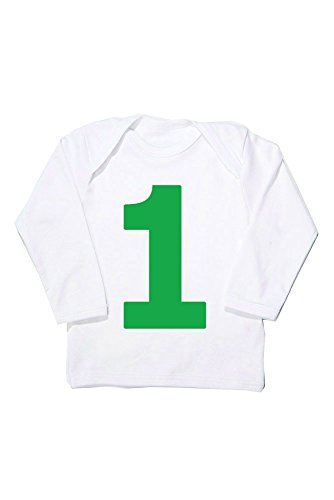1st birthday t shirt, I AM 1 green First Birthday T for sale  Delivered anywhere in UK