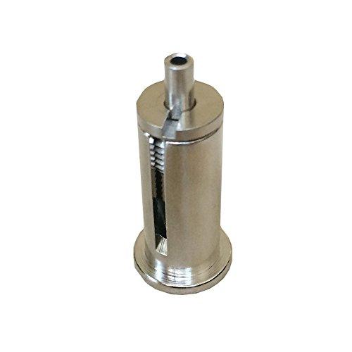 Drahtseilhalter Set M10x1 für Seil d.1,0mm bis 1,5mm Seilstopper vernickelt Seilsystem Stahlseilhalter Befestigung für Bilder Arbeitslast 25kg
