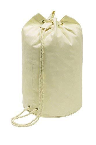 Matchsack Seesack Beige mit Kordelzug 45cm