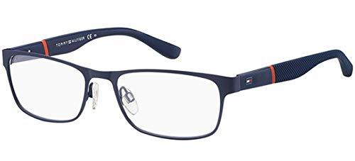 Tommy Hilfiger Herren TH 1284 BQZ 53 Sonnenbrille, Blau (Matt Blue),