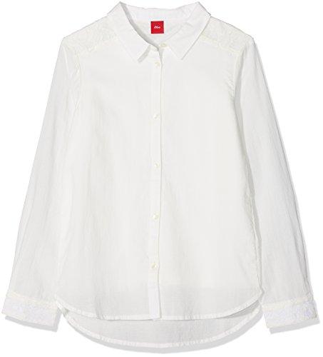 s.Oliver Junior Mädchen 76.899.11.3319 Bluse, Elfenbein (Ecru 0210), 164 (Herstellergröße: L/REG)