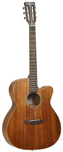 Tanglewood TW130SMCE - Guitarra acústica, acabado natural satinado