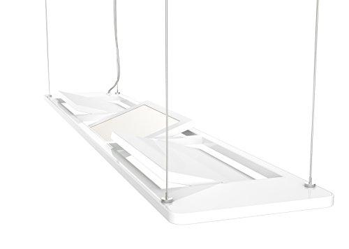 Osram 73243 Silento Poco - Plafoniera a sospensione a LED, 18 W, 230 V, colore: Bianco