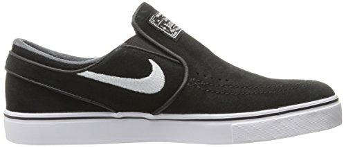 Nike Herren Zoom Stefan Janoski Slip Skaterschuhe Blanco (Black / White)