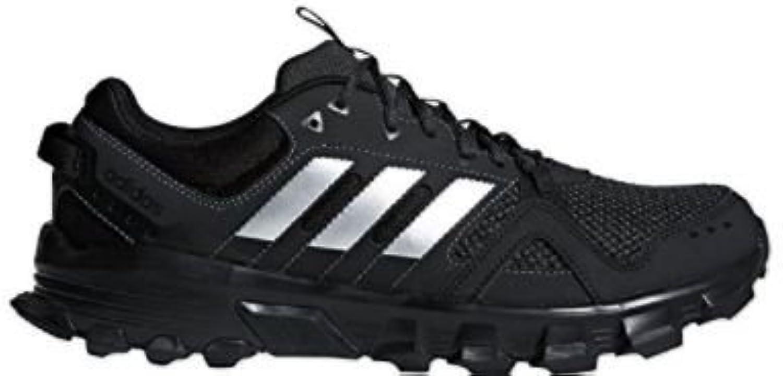 adidas rockadia trail m Running-Schuhe-Herren - cblack/msilve/carbon, Größe #:6 -