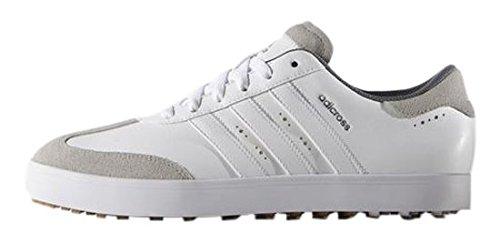 Adidas Adicross V–Chaussures de golf pour homme, blanc, 43.3 (W)