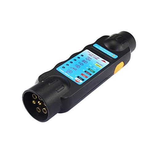 Qiman Durable 12 V 7-Pin Auto Truck Trailer Steckdose Tester Verdrahtungsschaltung Licht Test Werkzeug