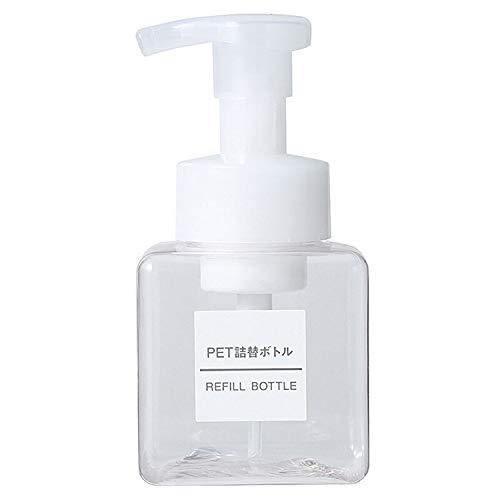 Shelf Transparente Schäumende Flasche/Drückende Mousse Schäumende Flasche/Bubbler / Schaumshampoo-Handdesinfiziererflasche,Transparent,250 ML - Schäumende Mousse