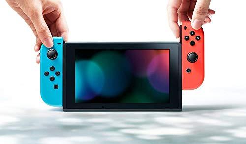 Nintendo Switch -  Consola color Azul Neón/Rojo Neón + Pokémon Let s Go Eevee