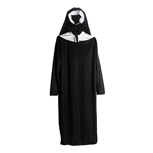 Frauen Cosplay Nonne Kostüm ()