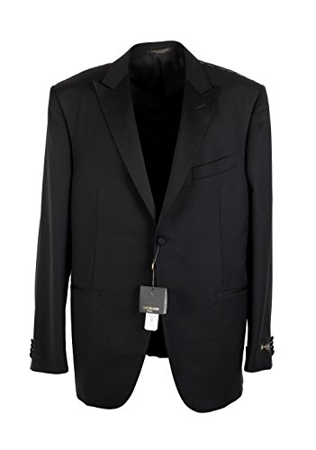 cl-corneliani-black-tuxedo-sport-coat-size-56-46r-us-virgin-wool