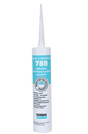 Dow Corning 789 Weatherproofing Silicon Sealent,300 ML,Black