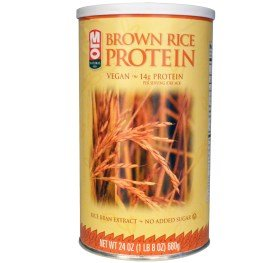 Brown Rice Protein Powder, 24 oz (680 g) by MLO Natural