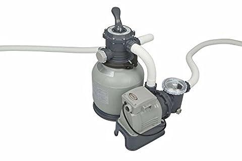"""Intex 28646GS Filtre à sable avec flexible de raccordement AG 2"""" traversée de paroi et robinet d"""