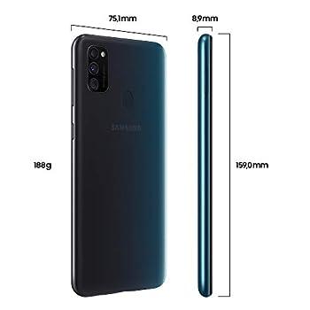 Samsung Galaxy M30s Black Smartphone - SIM Free Mobile Phone [Amazon Exclusive]