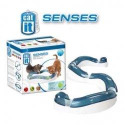 CATIT Senses Speed Circuit - Tempo-Spielschiene, Katzenspielzeug, Geschicklichkeitsspielzeug für Katzen
