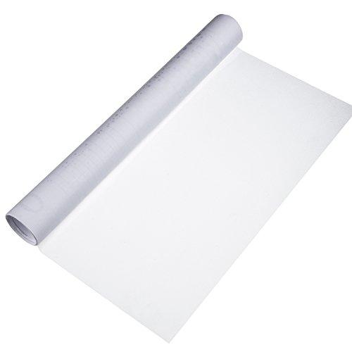 Shappy Vinilo Estático de Privacidad de Ventana Película de Ventana de Vidrio Escarchada Opaco para Oficina Hogar Habitación Baño, 40 por 200 cm