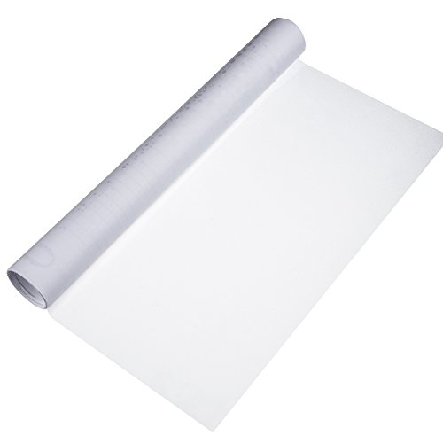 Vinilo Estático de Privacidad de Ventana Película de Ventana de Vidrio Escarchada Opaco para Oficina Hogar Habitación Baño, 40 por 200 cm