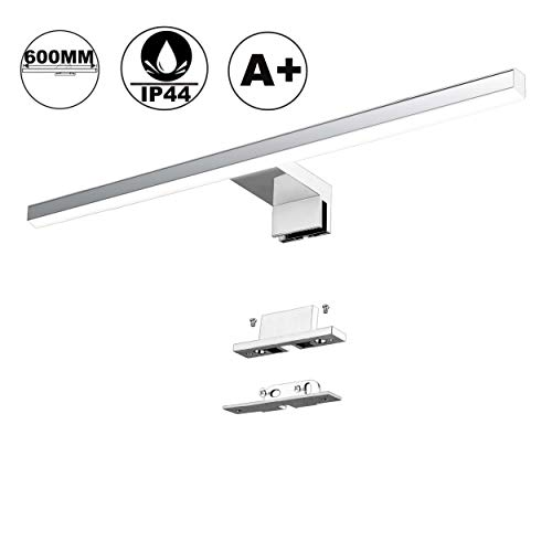 Lámpara LED de Espejo 10W 820LM Lámpara de Baño Azhien, Blanco Neutro 4000K Lámpara LED de Pared...