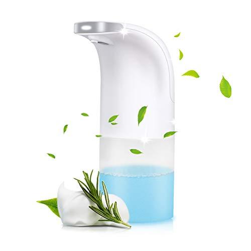 Automatischer Seifenspender Berührungslose Flüssigkeit 350ML Intelligenter Seifenspender Infrarot Bewegungssensor Pumpe Schäumen für Bad & Küchentoilette