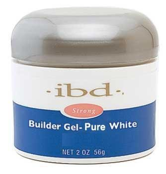 IBD Builder Gel Pure White (Intense White) 56g - White Builder Gel