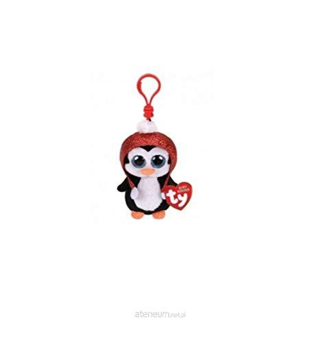 Ty 35223 Gale Penguin Boo Key Clip Xmas 2019, Multicolor