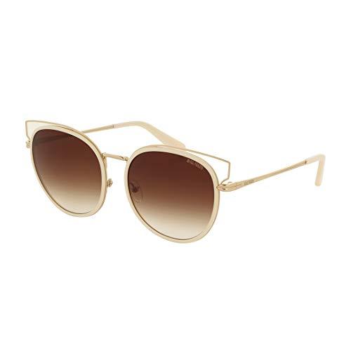 Balmain Sonnenbrillen (BL-2503 02) vintage weiß - gold - grau-braun verlaufend