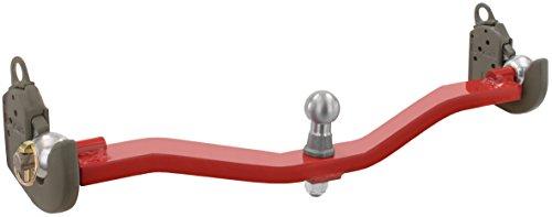 Ackerschiene verdrehsicher mit Kugelkopf, Kat I oder Kat II, 2 Bis 3,5 Tonnen Zuglast, Anhängerkupplung Einfach vor Verbiegen schützen (a - Kat II, bis 3,5t, 28mm Bolzen-Durchmesser)