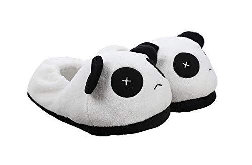 Simpatiche ciabatte con panda di animali, pantofole morbide, ciabatte da indossare insieme per le coppie (40-42 eu, x occhi)