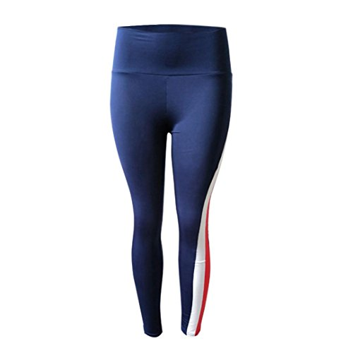 Bovake - Leggings sportivi -  donna Blue