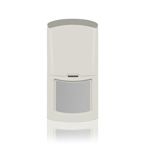 Sensore di movimento pir wireless volumetrico per allarme antifurto wireless