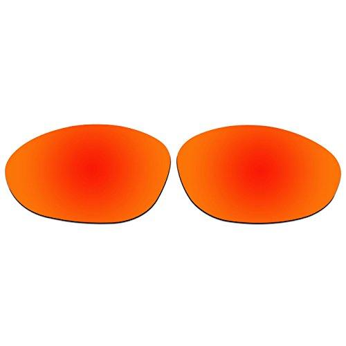ACOMPATIBLE Ersatz-Objektive für Oakley XX/Old Zwanzig XX (2000Jahr) Sonnenbrille, Fire Red Mirror - Polarized