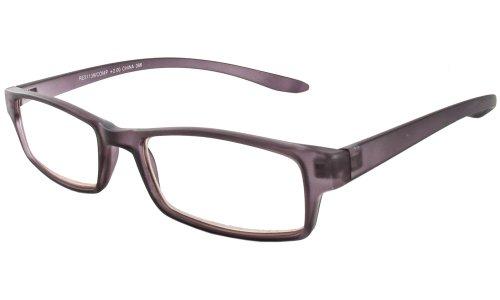 CALABRIA 21139 Computer Lesen Hals-Hängen Eyeglass In; +2,75 2.75 52 klar Mittel Grau