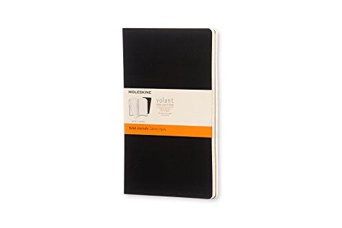 Moleskine Quaderno Cahier Journal Volant Collection, Righe, Nero