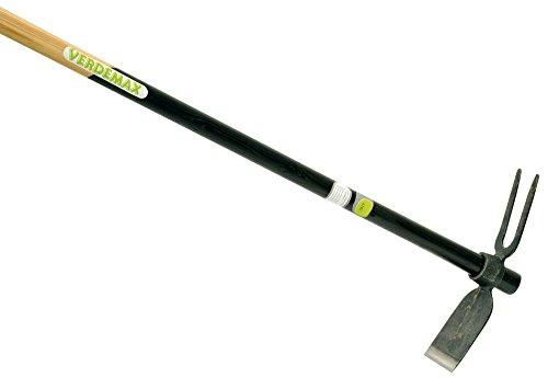 Verdemax 6121 140 cm, mit FSC Ash Handle Hacke und 2-Stift-Grubber