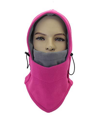 ZZLAY Balaclavas Hut Doppelte Schichten verdicken Kappen Winter Vielseitige Hals Warm Fleece Ski Gesicht Maske