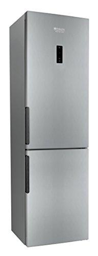 Hotpoint LH8FF2OA Libera installazione 301L A++ Argento frigorifero con congelatore Senza installazione