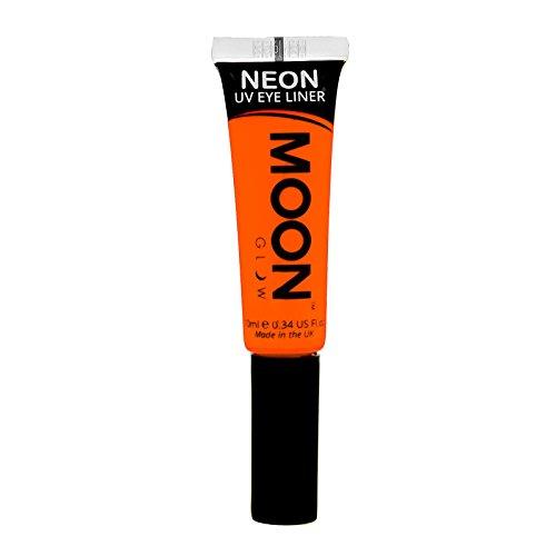 Moon Glow - Neon-UV-Lidstrich 10ml Orange-ein spektakulär glühender Effekt bei UV- und Schwarzlicht!