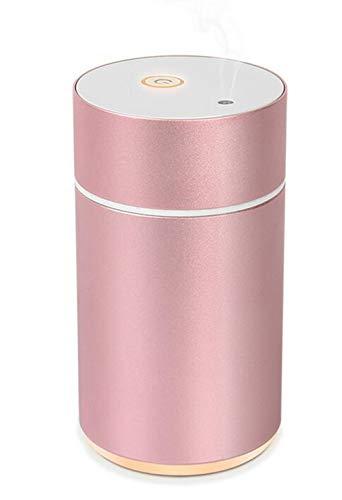 ZXM Difusor De Aceite Esencial para Coche con Ambientador De Aire Portátil USB Sin Agua Difusor De Aroma Difusor De Aromaterapia Eléctrico Difusor De Aceite De Fragancia De Ultrasonidos