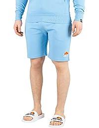Ellesse Hombre Pantalones Cortos de Sudor Crawford, Azul