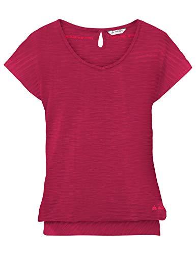 Vaude Damen Skomer II T-Shirt Crimson red 48