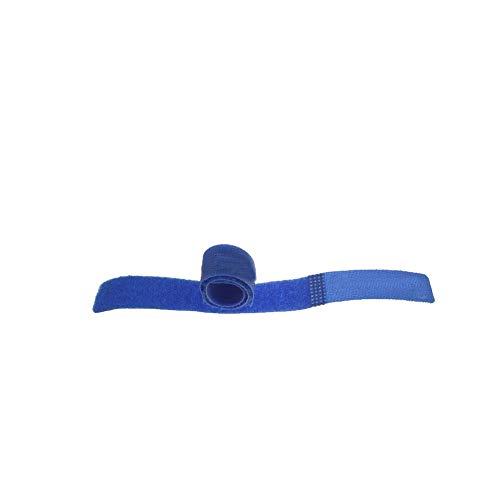 song rong Wiederverwendbare Kabelbinder Befestigung Draht-Organisator-Schnur-Seil-justierbarer Halter für elektrische Computer-Draht-Management-Blau 1pc (Elektrischer Draht-organisator)